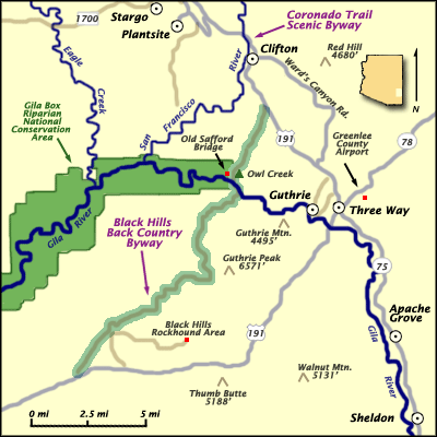 Black Hills Byway Map