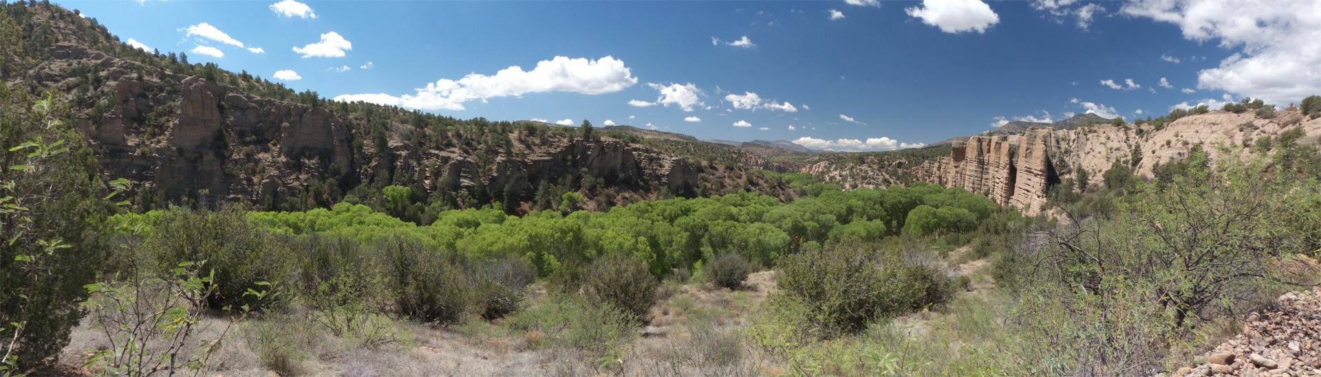 Blue River Panorama