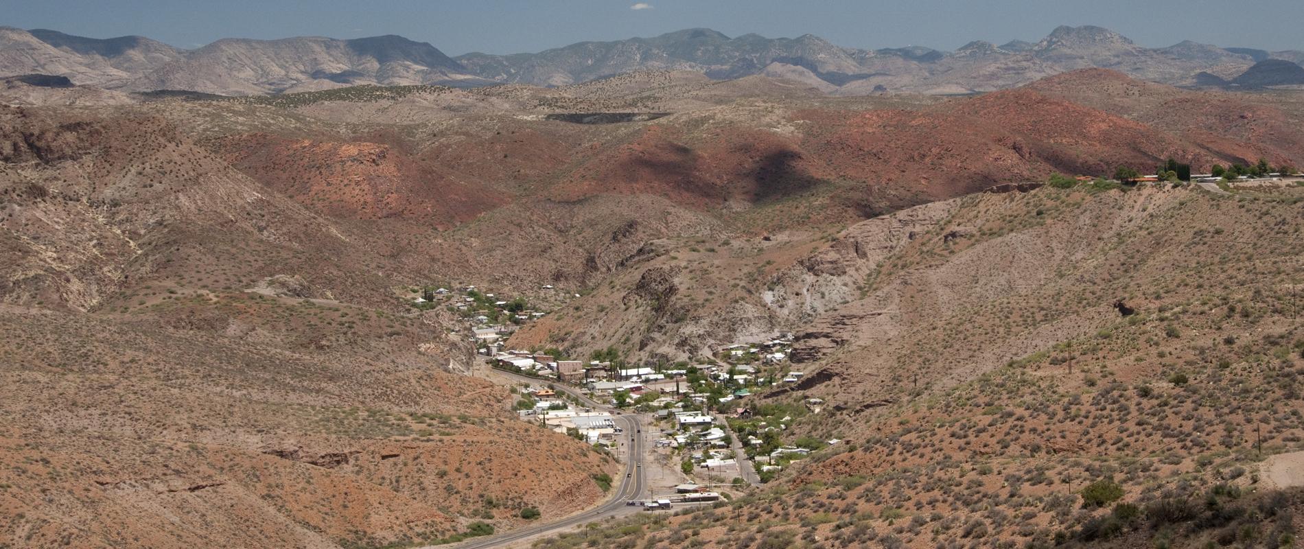 Clifton AZ Panorama