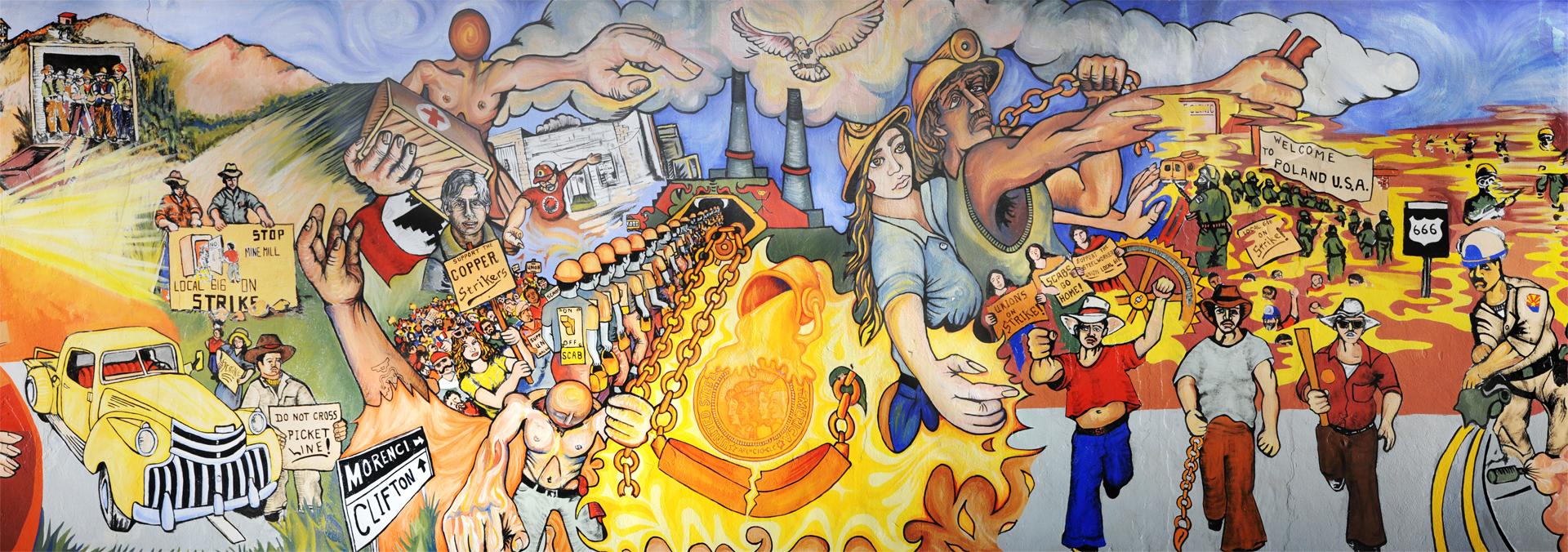 Clifton Union Hall Mural