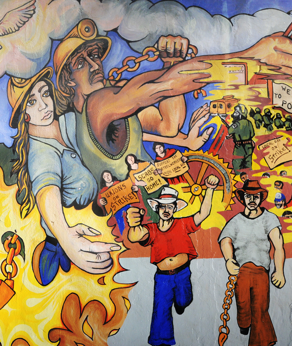 Union Hall Mural
