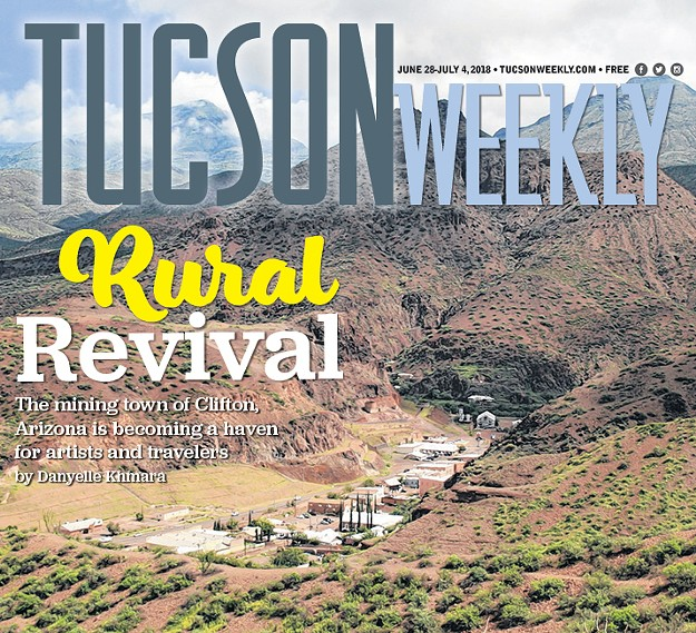 Clifton Tucson Weekly article