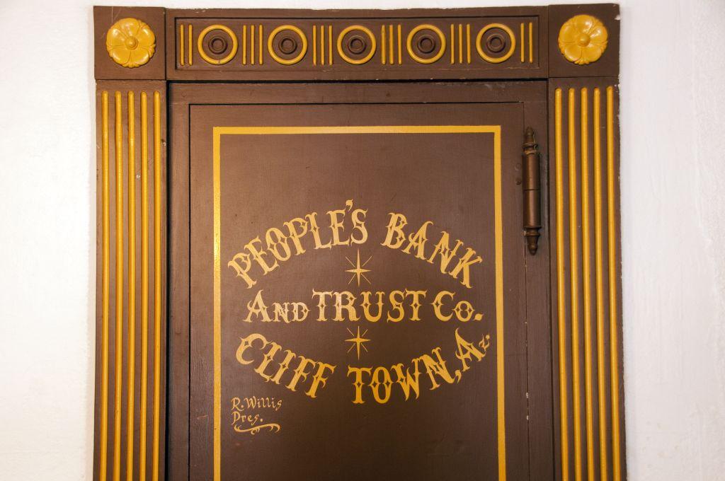 Peoples Bank Vault